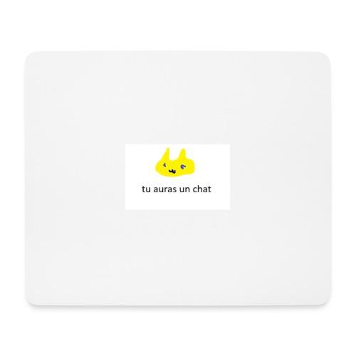 LeChaton toffre un chat - Tapis de souris (format paysage)