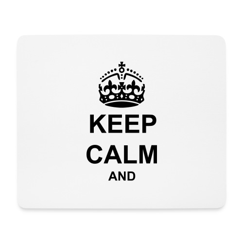 Keep Calm And Your Text Best Price - Mouse Pad (horizontal)