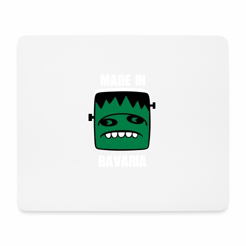 Fonster weiß made in Bavaria - Mousepad (Querformat)