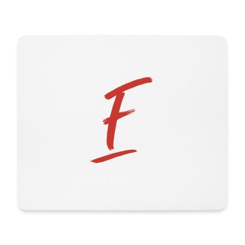 Radio Fugue F Rouge - Tapis de souris (format paysage)