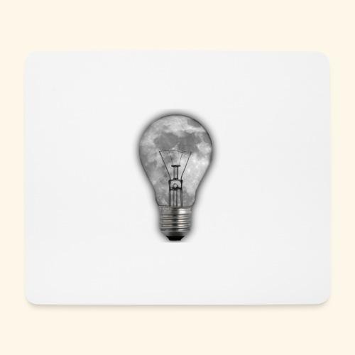 moon bulb - Alfombrilla de ratón (horizontal)