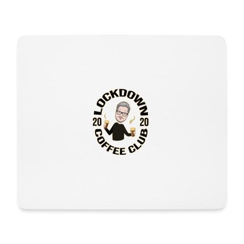 Lockdown Coffee Club 2020 - Mouse Pad (horizontal)
