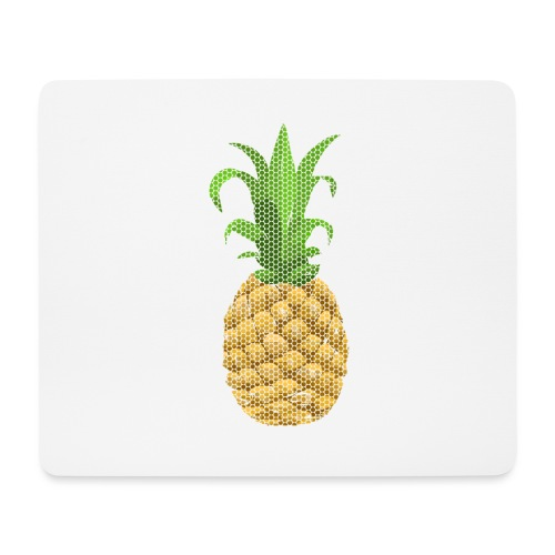 Dots Ananas - Mousepad (Querformat)
