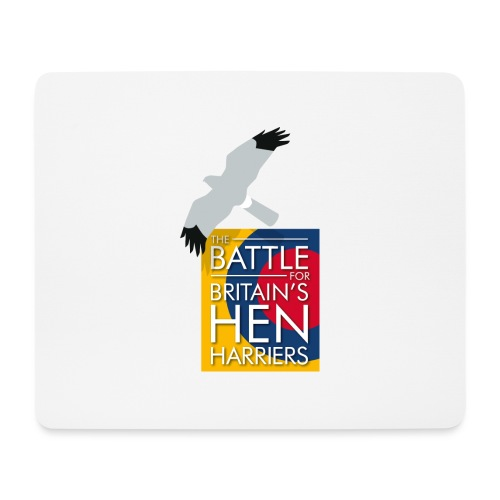 New for 2017 - Women's Hen Harrier Day T-shirt - Mouse Pad (horizontal)