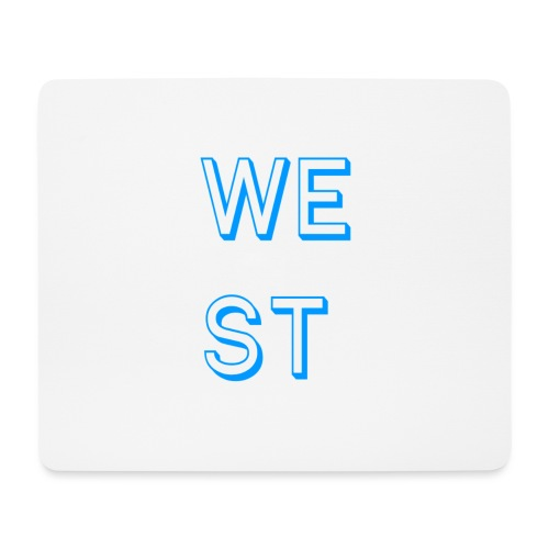 WEST LOGO - Tappetino per mouse (orizzontale)