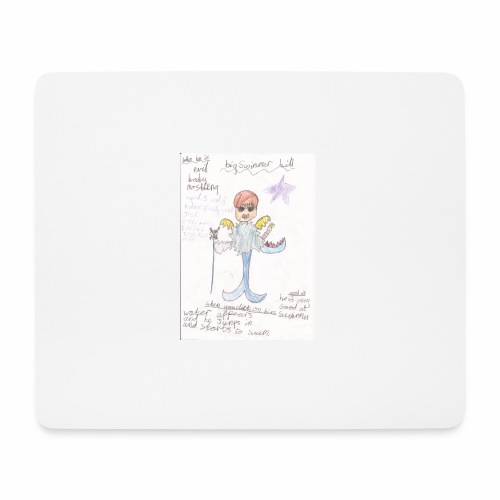 Big Swimmer Bill DHIRT - Mouse Pad (horizontal)