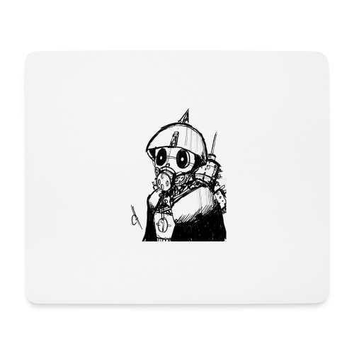 gas man - Alfombrilla de ratón (horizontal)