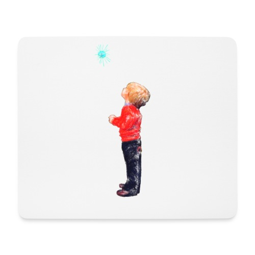 The Boy and the Blue - Mouse Pad (horizontal)