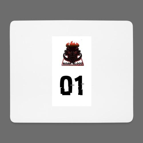 Boar blood 01 - Podkładka pod myszkę (orientacja pozioma)