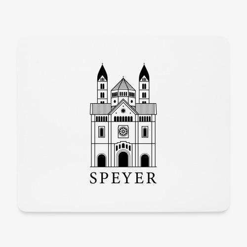 Speyer - Dom - Classic Font - Mousepad (Querformat)