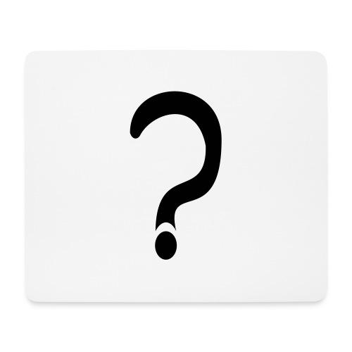 fragezeichen, wieso weshalb warum - Mousepad (Querformat)
