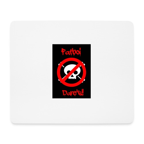 Fatboi Dares's logo - Mouse Pad (horizontal)
