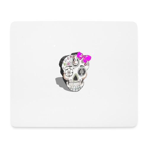 Tête de mort mexicaine 3D - Tapis de souris (format paysage)