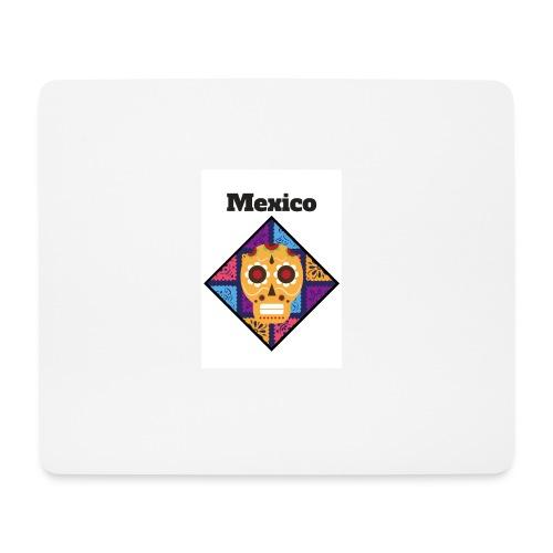 Mexico Calavera - Alfombrilla de ratón (horizontal)