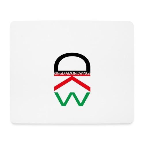 King Diamond Wings Colored Logo - Mouse Pad (horizontal)
