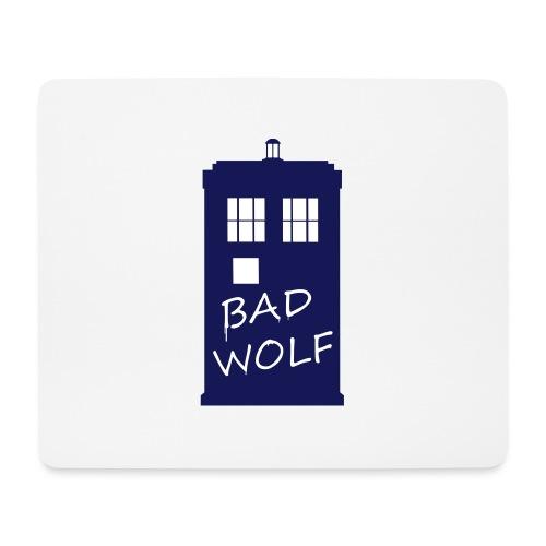 Bad Wolf Tardis - Tapis de souris (format paysage)