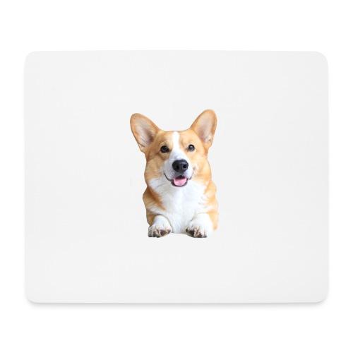 Topi the Corgi - Frontview - Mouse Pad (horizontal)
