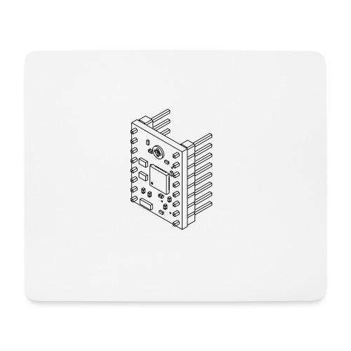 A4988 (no text). - Mouse Pad (horizontal)