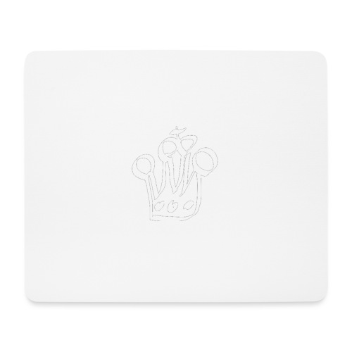 MTeVrede 6 kroon wit2 - Mouse Pad (horizontal)