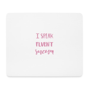 I SPEAK - Mousepad (Querformat)