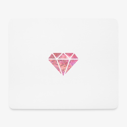 Pink Diamond - Tappetino per mouse (orizzontale)