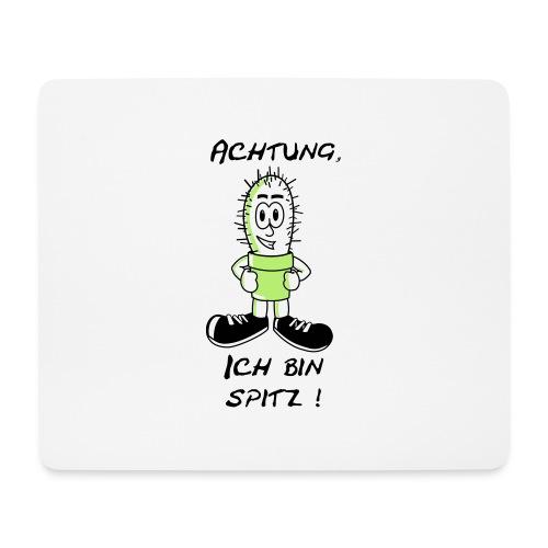 Kaktus: Ich bin spitz - Mousepad (Querformat)