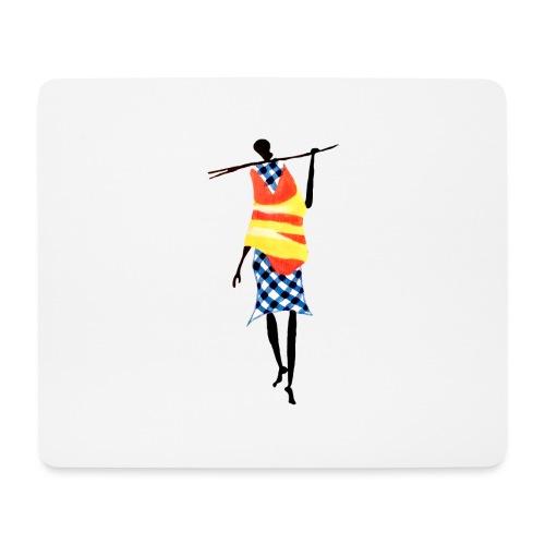 Color Stick Man - Mousepad (bredformat)