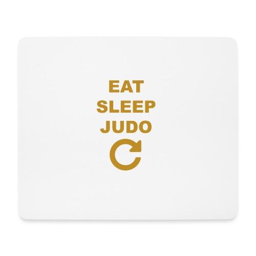 Eat sleep Judo repeat - Podkładka pod myszkę (orientacja pozioma)