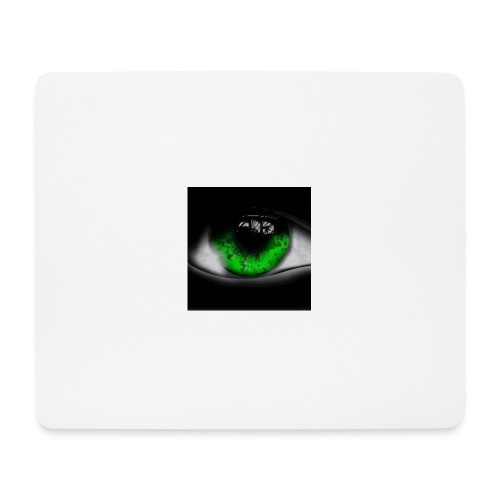 Green eye - Mouse Pad (horizontal)