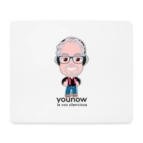 Younow - La voz silenciosa - Alfombrilla de ratón (horizontal)