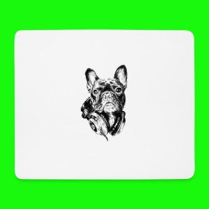 Small_Dog-_-_Bryst_- - Mousepad (bredformat)