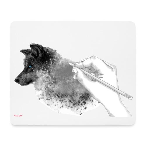 Weisse Wolfs Kolektion. ( Teaser ) - Mousepad (Querformat)