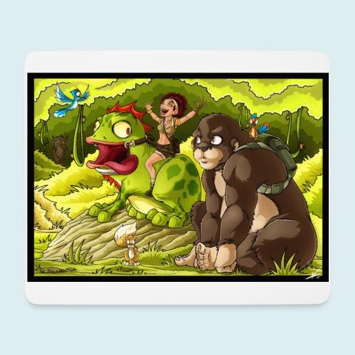 jungle - Tappetino per mouse (orizzontale)