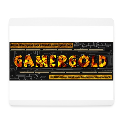 gamergold - Mousepad (Querformat)