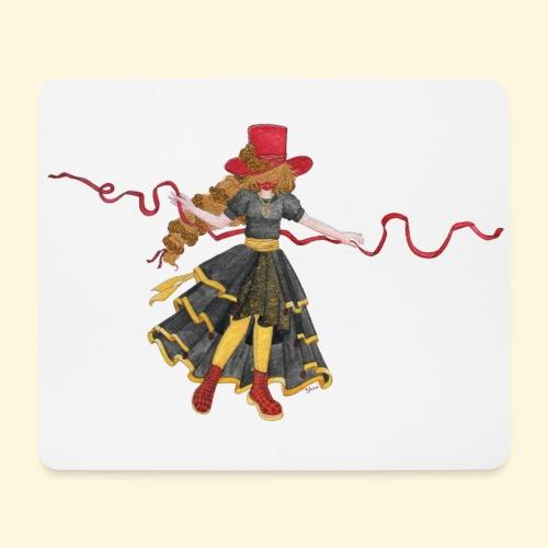 Ladybird - La célèbre uchronaute - Tapis de souris (format paysage)