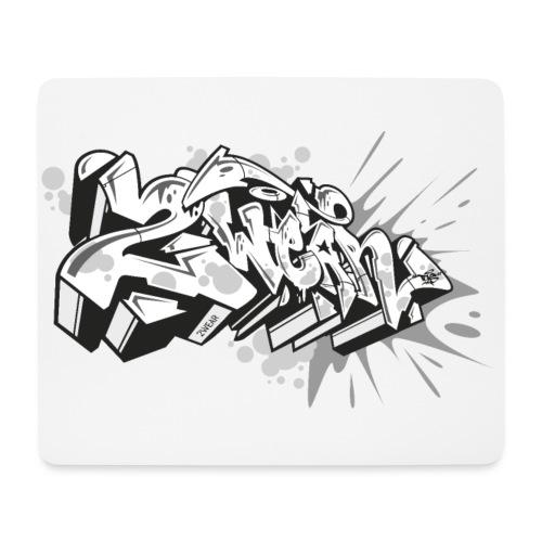 √ graffiti 2Wear dae 2tone - Mousepad (bredformat)