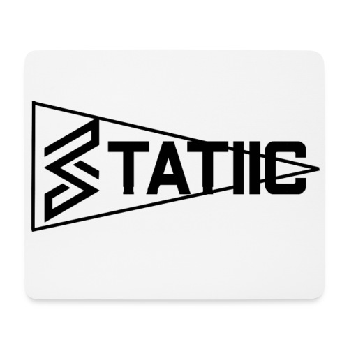 statiic text png - Mouse Pad (horizontal)