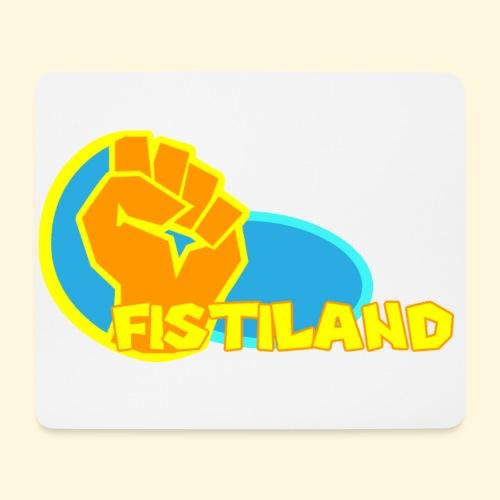 FISTILAND en couleur - Tapis de souris (format paysage)