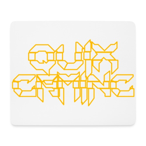 QuixGaming Simple Design - Mousepad (bredformat)