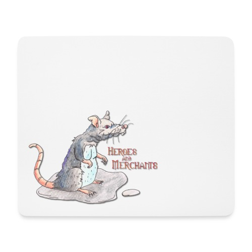 Rat - Mousepad (Querformat)