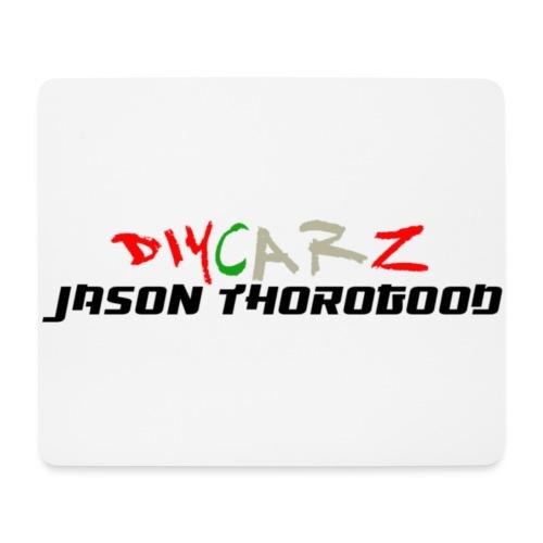 DIYCARZ-JASON THOROGOOD BRAND MERCH - Mouse Pad (horizontal)