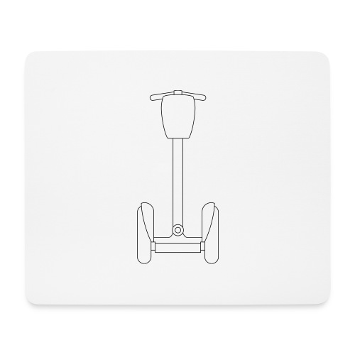 Segway i2 mit Tasche - Mousepad (Querformat)