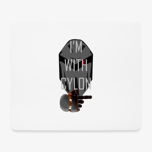 I'm with Cylon - Musematte (liggende format)