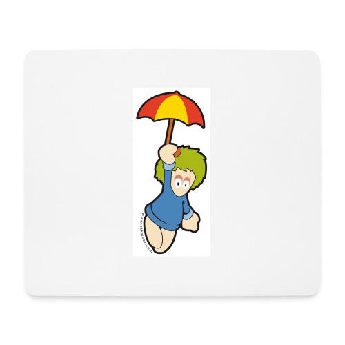 lemming parapluie - Tapis de souris (format paysage)