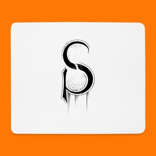 ASCP-sign-black transp - Mouse Pad (horizontal)
