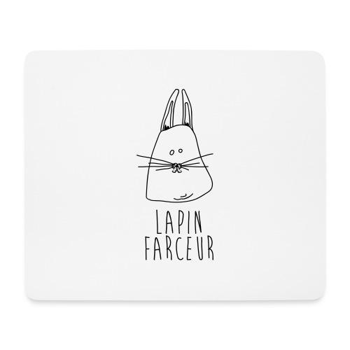 Lapin farceur - Tapis de souris (format paysage)