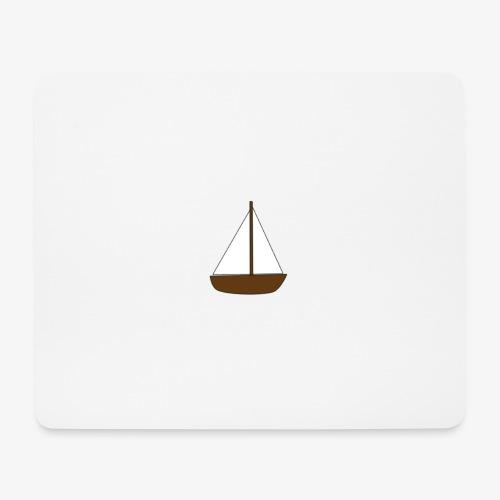 Boat Sticker - Mouse Pad (horizontal)