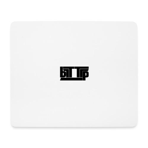 brttrpsmallblack - Mouse Pad (horizontal)