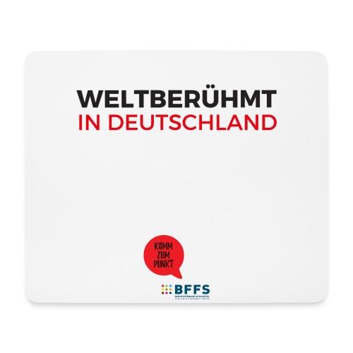 Weltberühmt in Deutschland gif - Mousepad (Querformat)
