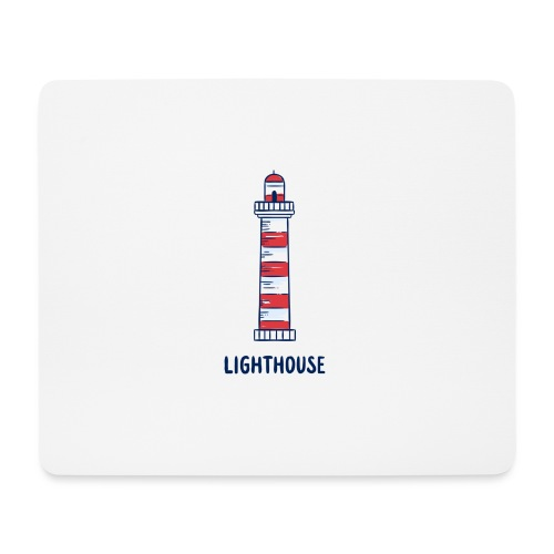 Lighthouse - Mousepad (Querformat)